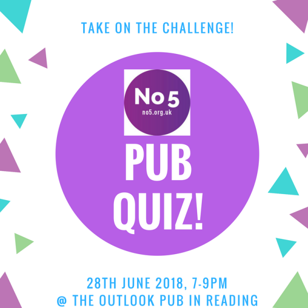 Join us at the No5 Pub Quiz!