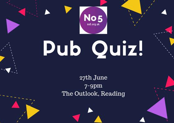 No5 Pub Quiz is just around the corner!
