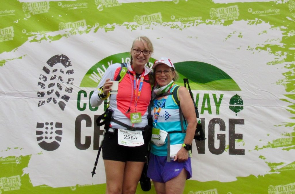Kerry & Trisha's 100km Cotswold Way Challenge for No5