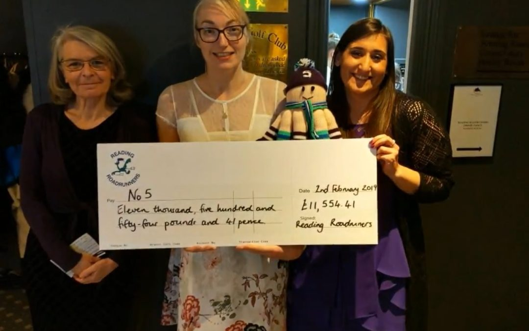Reading Roadrunners raise £11,500!