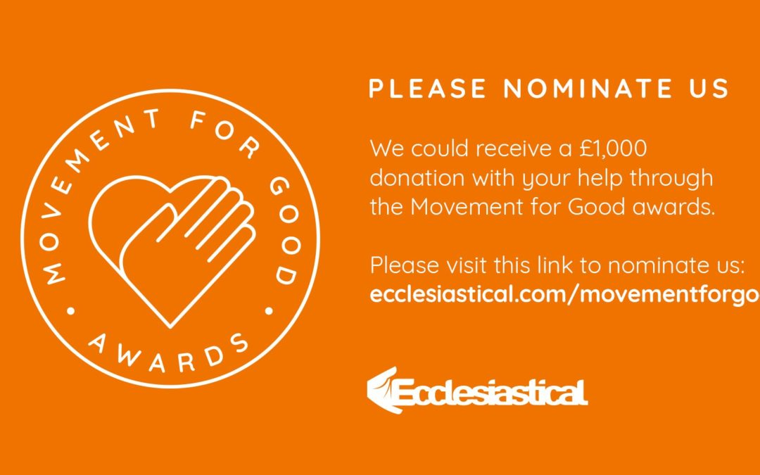 Please nominate No5 to help us win £1,000!